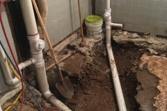INTERIOR MAIN SEWER LINE REPLACEMENT