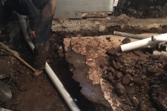 MAIN SEWER LINE REPLACEMENT 1